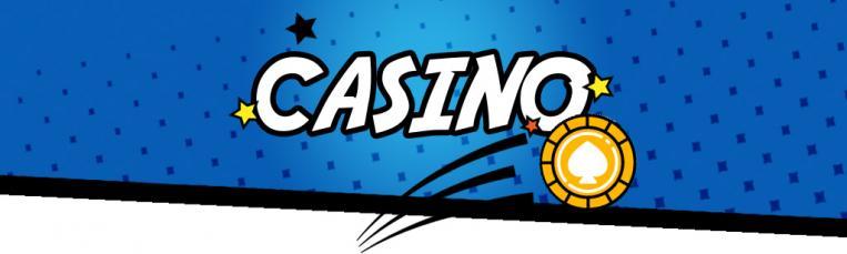 casino blå bakgrund